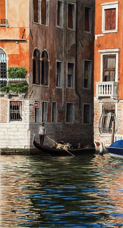Venedig-CanaleGrande_65x38cm_Aquarell_2014_Hoenig