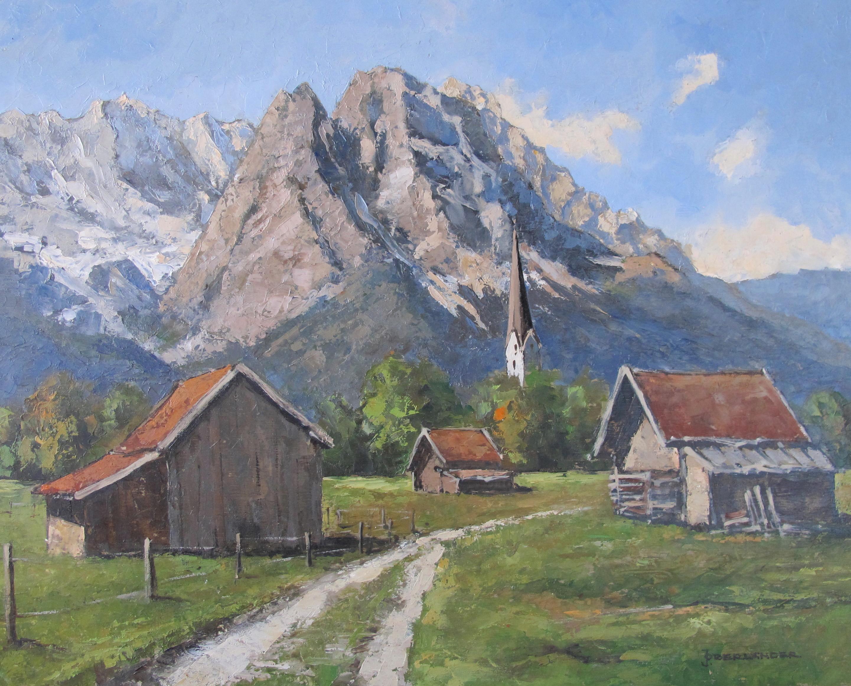 Garmisch_Waxenstein__40X50__Öl