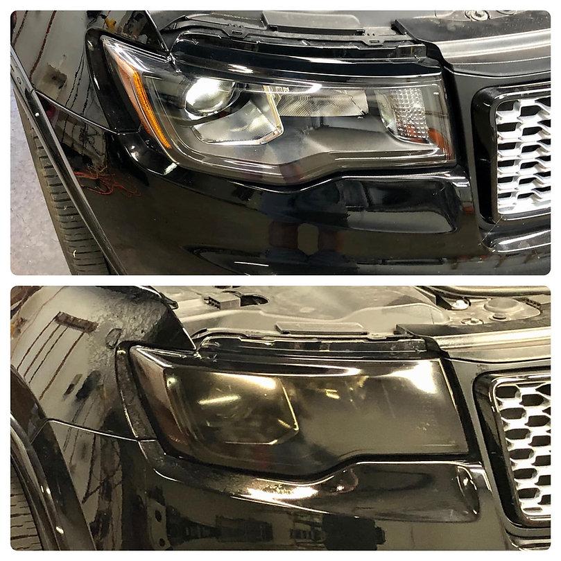 tinted headlights smoked headlights headlight tint kansas city precision tint
