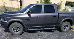 precision tint automotive window tinting kansas city truck