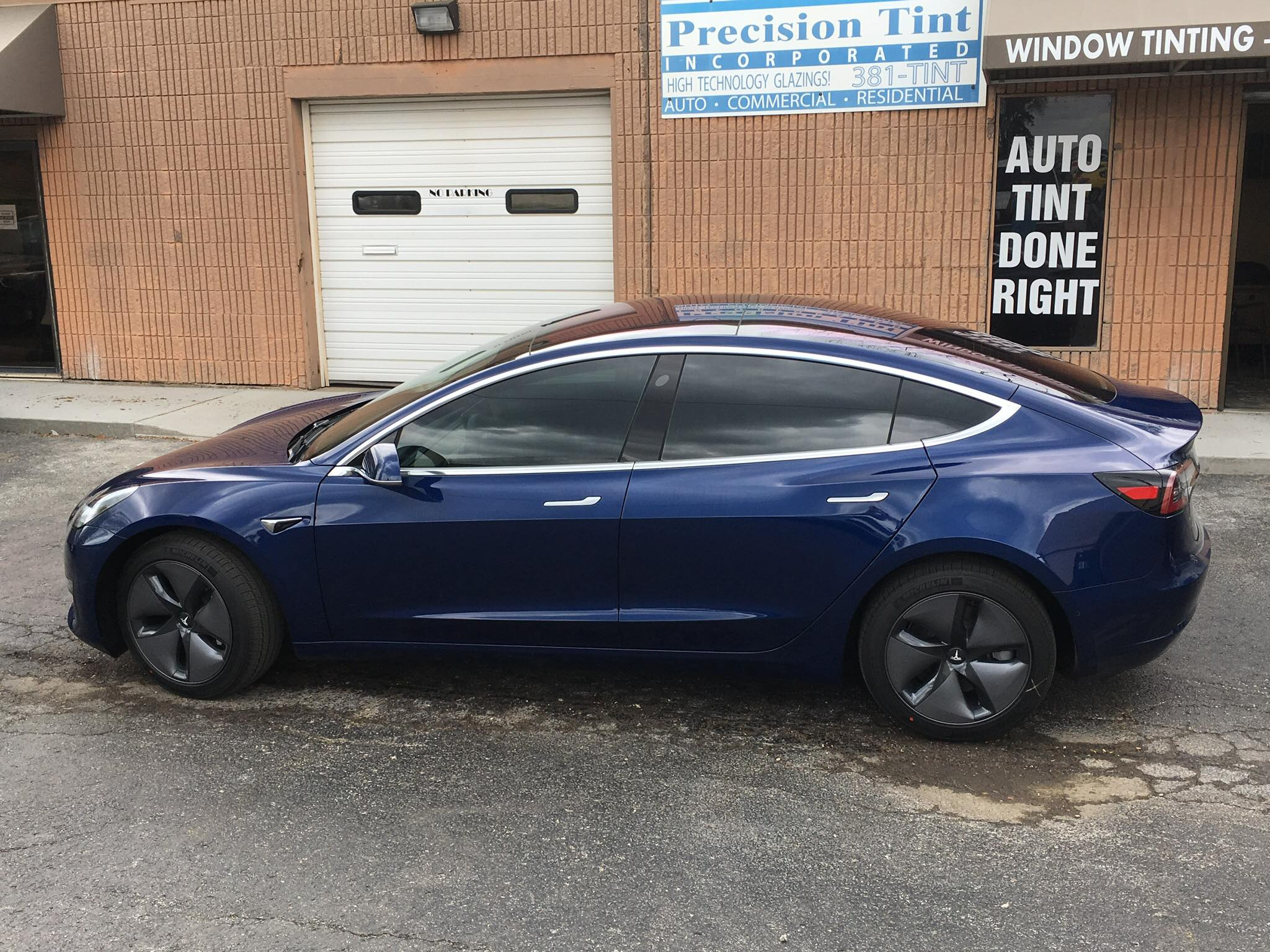 precision tint automotive window tinting kansas city car