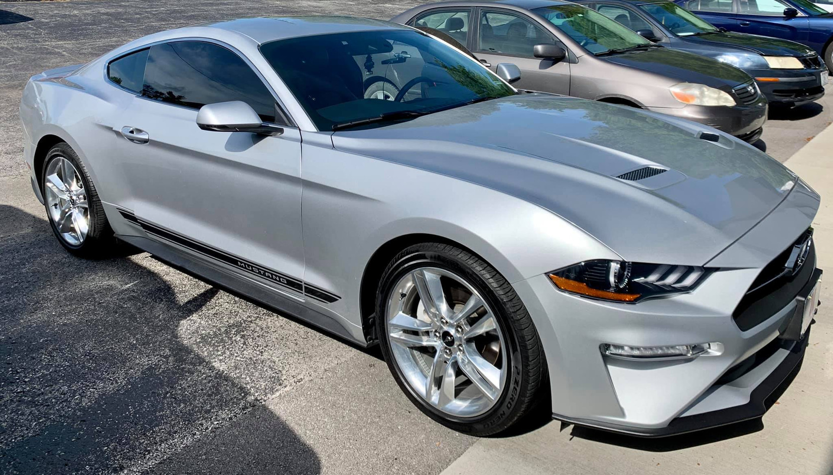 precision tint kansas city automotive window tinting ford mustang