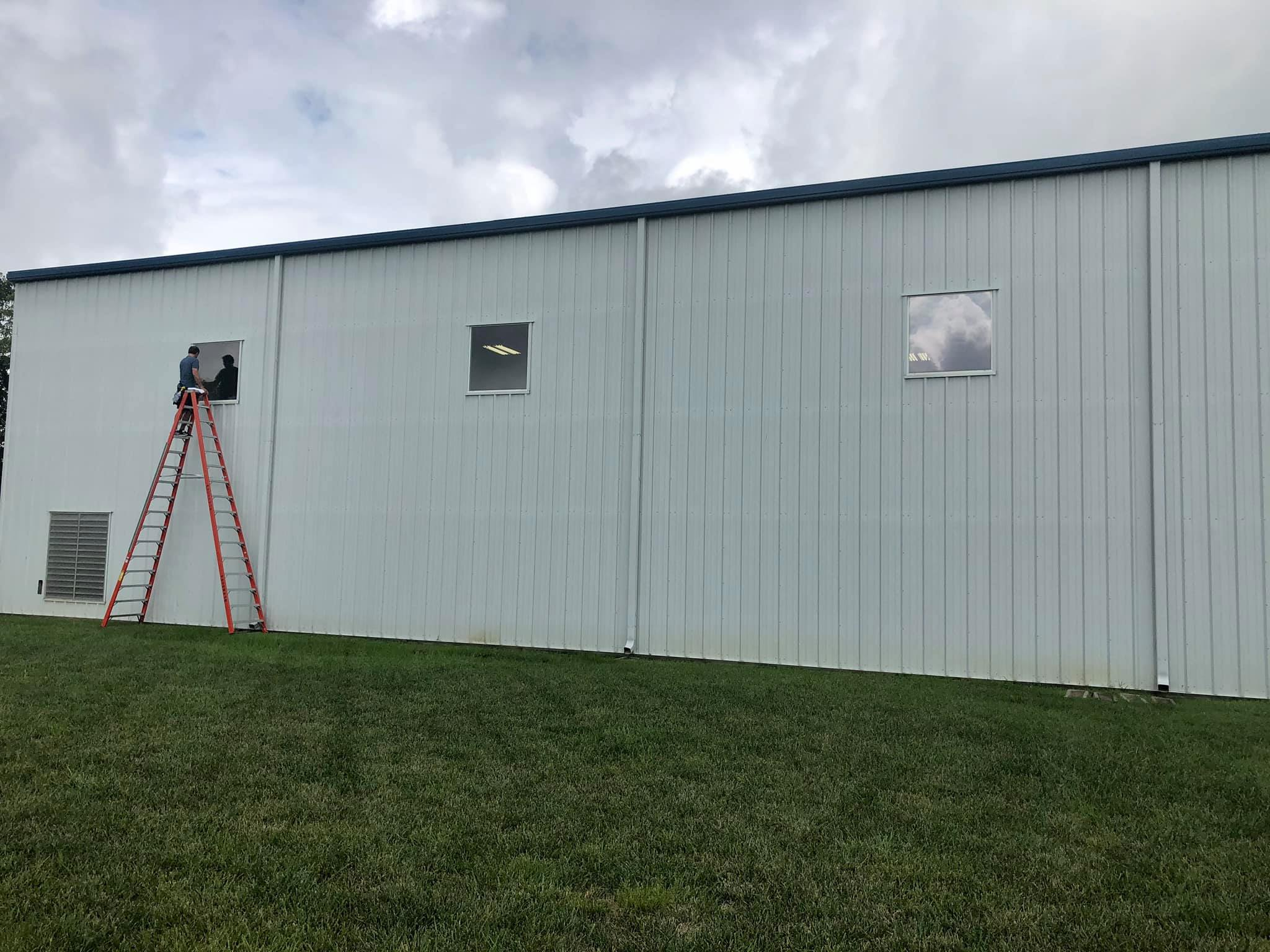 industrial building window tinting kansas city precision tint
