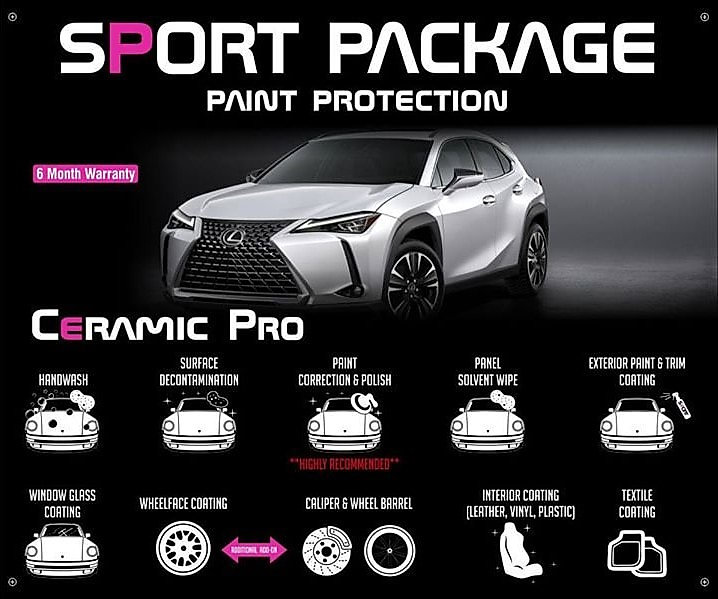Precision Tint Ceramic Coatings Ceramic Pro sport package Photo
