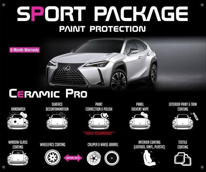 Precision Tint Ceramic Coatings Ceramic Pro sport package Photo