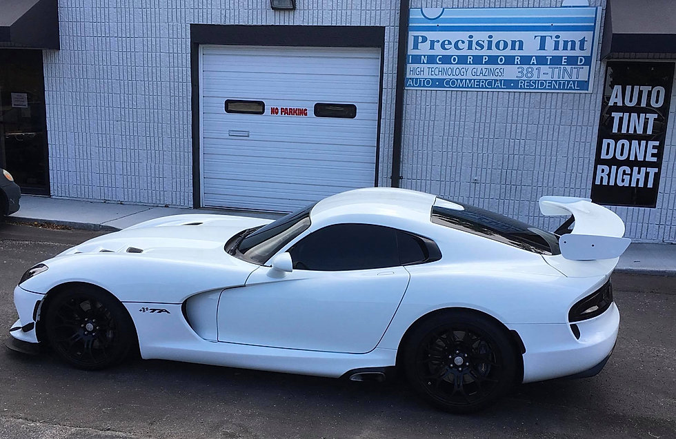 vehicle window tinting kansas city precision tint viper