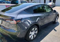 automotive window tinting tesla model y precision tint kansas city