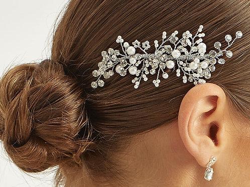 Crystal & Pearl Headpiece