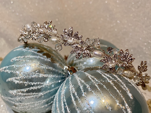 Bridal Pearl, Crystal & Diamanté headband