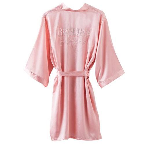 Brides Bestie Pink Robe