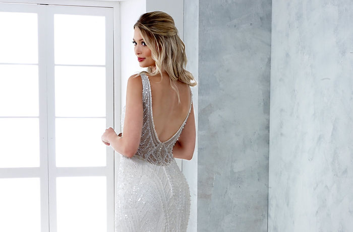 beaded wedding dress eastbourne hailsham