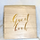 Thumbnail: Wooden Rose Gold Foiled Guest Book