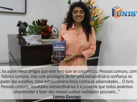 Emocionante Discurso da Autora Fátima Gonzaga