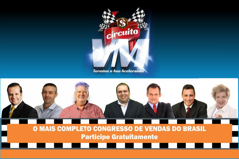 Tenha o maior Congresso Online de Vendas do Brasil com mais de 40 especialistas em sua empresa