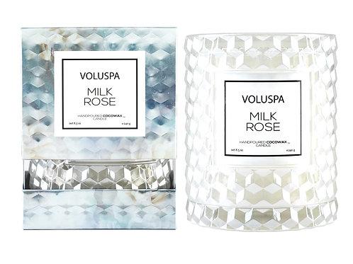 MILK ROSE | CLOCHE CANDLE | VOLUSPA