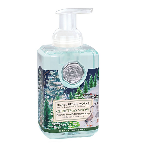CHRISTMAS SNOW | FOAMING HAND SOAP | MICHEL DESIGN WORKS