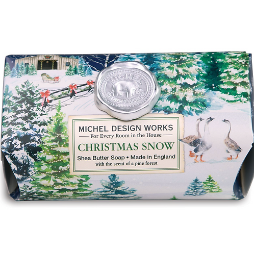 CHRISTMAS SNOW | BAR SOAP  | MICHEL DESIGN WORKS