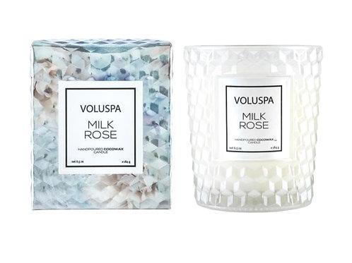 MILK ROSE | CLASSIC CANDLE | VOLUSPA