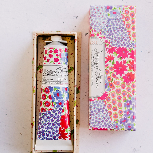 LINDEN | HAND CREAM | LIBRARY OF FLOWERS