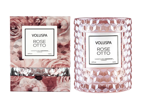 ROSE OTTO | CLOCHE CANDLE | VOLUSPA