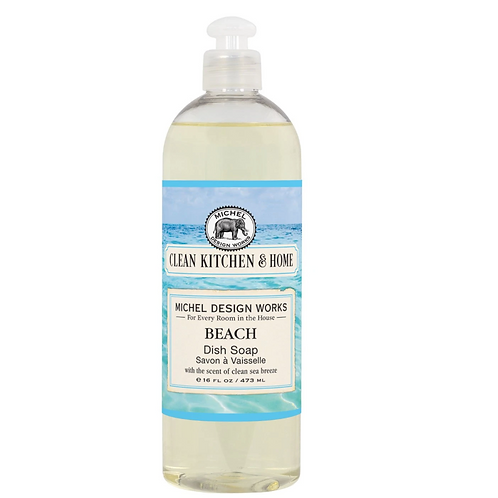 BEACH | DISH SOAP | MICHEL DESIGN WORKS