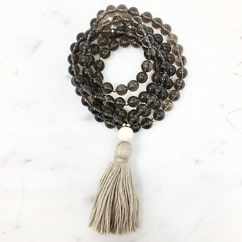 CLARITY | TASSEL MALA NECKLACE  | THE BEAUTIFUL NOMAD