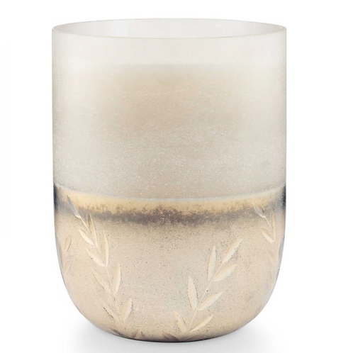 FROSTED GLASS CANDLE | BALSAM + CEDAR | ILLUME