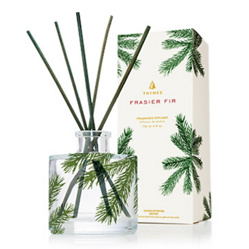 PETITE PINE NEEDLE REED DIFFUSER  | FRASIER FIR | THYMES