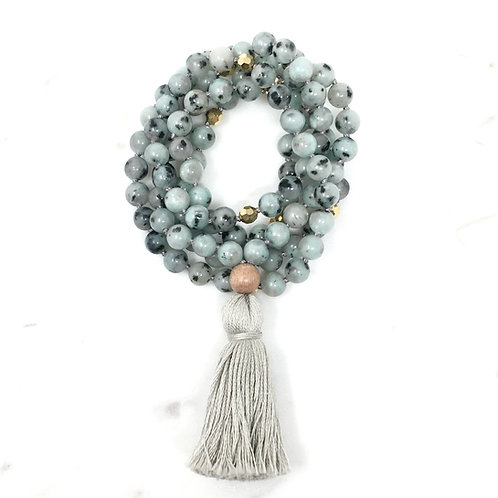 COURAGE | TASSEL MALA NECKLACE  | THE BEAUTIFUL NOMAD