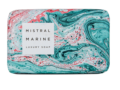 MARINE | BAR SOAP MARBLE COLLECTION | MISTRAL