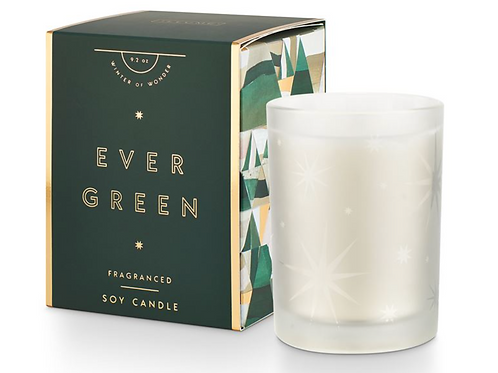 GIFTED GLASS CANDLE | EVERGREEN | ILLUME