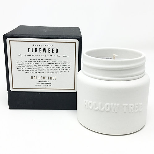 FIREWEED CANDLE | BACKPACKER SERIES | HOLLOW TREE