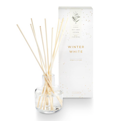 HOLIDAY REED DIFFUSER | WINTER WHITE | ILLUME