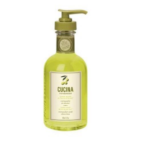 CORRIANDER + OLIVE TREE | SMALL LIQUID SOAP | CUCINA