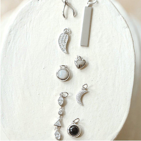 ADORNED CHARMS | STERLING SILVER | MELANIE AULD