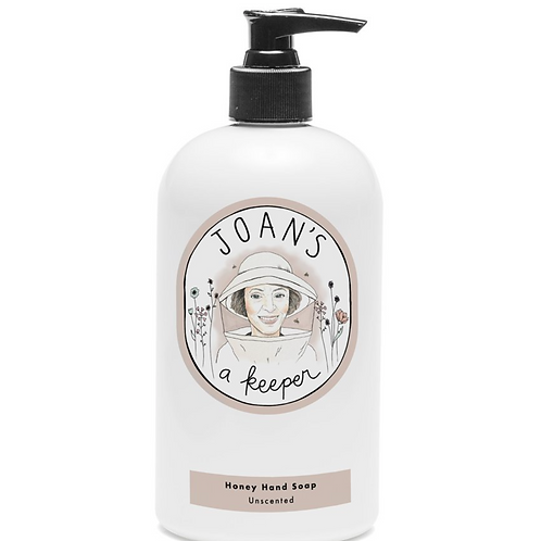 UNSCENTED | HONEY HAND SOAP | JOAN'S A KEEPER