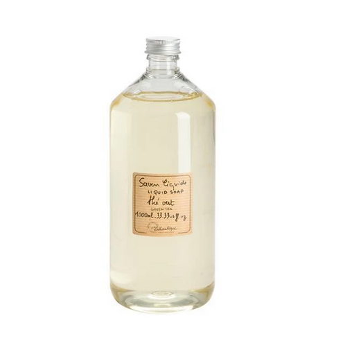 GREEN TEA | LIQUID SOAP REFILL | - LOTHANTIQUE