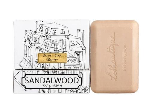 SANDALWOOD | BAR SOAP | - LOTHANTIQUE