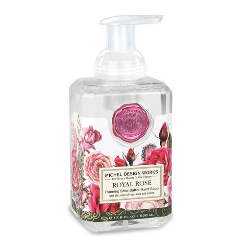 ROYAL ROSE | FOAMING HAND SOAP | MICHEL DESIGN WORKS