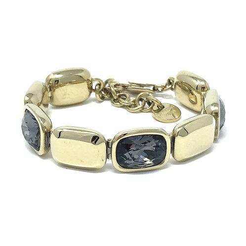 TANA BRACELET, GOLD + BLACK DIAMOND - DYRBERG/KERN
