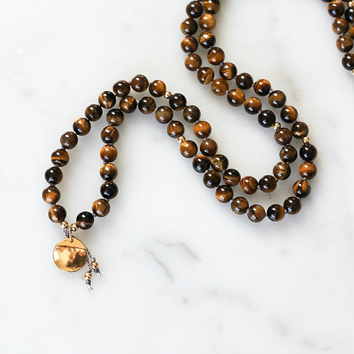 TRANSFORMATION | PENDANT MALA NECKLACE  | THE BEAUTIFUL NOMAD
