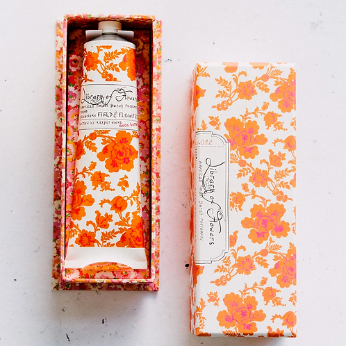 FIELD + FLOWERS | HAND CREAM | LIBRARY OF FLOWERS
