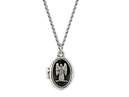 GUARDIAN ANGEL | SMALL LOCKET COLLECTION | PYRRHA