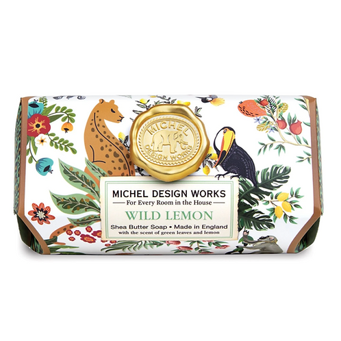 WILD LEMON | BAR SOAP  | MICHEL DESIGN WORKS