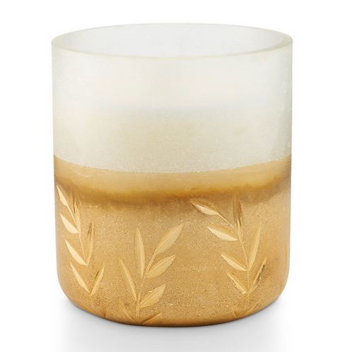 FROSTED GLASS CANDLE | WINTER WHITE | ILLUME