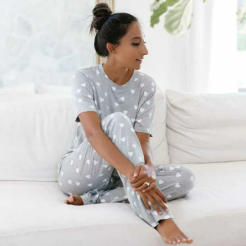 POPPIE SLEEP SET | GRAY | PRIVILEGE CLOTHING