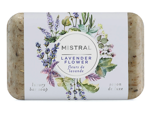 LAVENDER FLOWER | BAR SOAP CLASSIC COLLECTION | MISTRAL