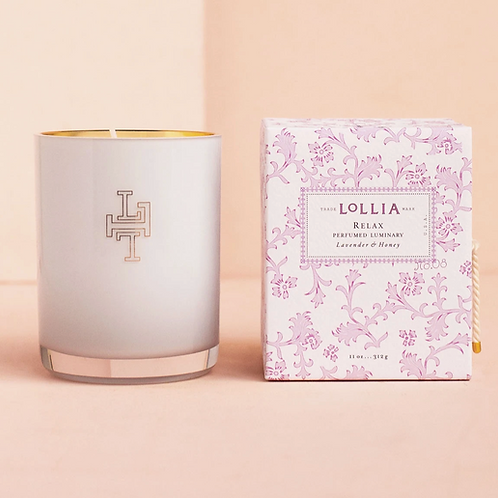RELAX | LUMINARY CANDLE | LOLLIA