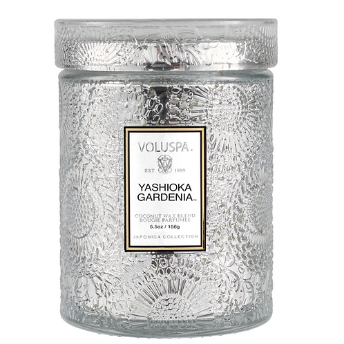 YASHIOKA GARDENIA | SMALL JAR CANDLE | VOLUSPA