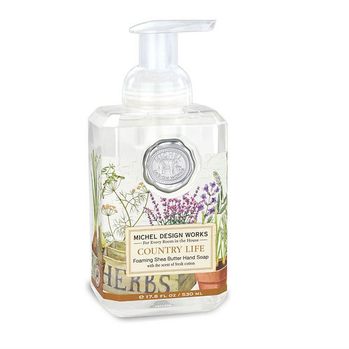 COUNTRY LIFE | FOAMING HAND SOAP | MICHEL DESIGN WORKS